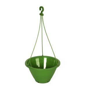 Danshil Climber Hanging Pot - 8.6 Inches (Green)