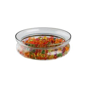 Glass Planter Flat Bowl -Medium (Without Accessories)