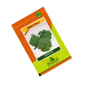 Hybrid Broccoli: Greenpia seeds - 10 gm