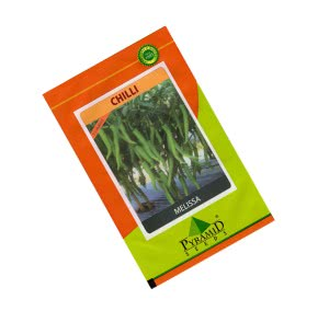 Hybrid Chilli Seeds - Melisa - 10 gm