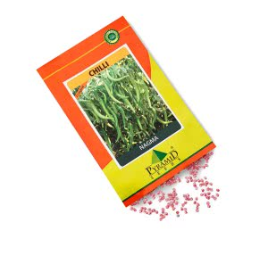 Hybrid Chilli Vegetable Seeds-Nagma - 10 g