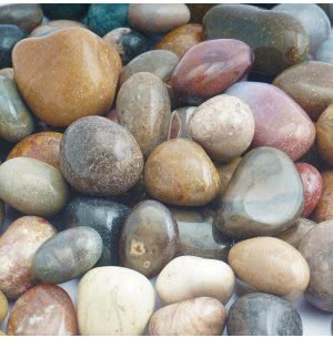 Navrang Polished Pebbles- 1 Kg