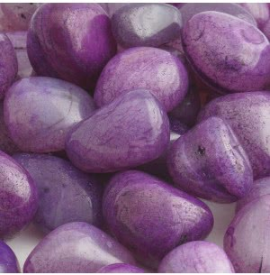 Onyx Violet Polished Pebbles- 1 Kg