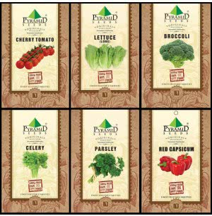 Exotic Vegetable Seeds Combo of 6 Packet