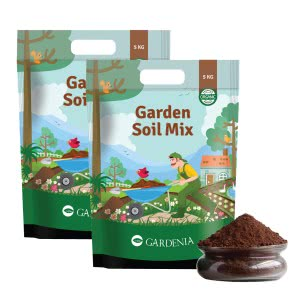 Gardenia Garden Soil Mix -10 Kg (Set of 2 X 5 Kg)