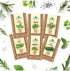 Herb Seeds Combo of 6 Packet