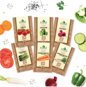 Indian Salad Veggies Seeds Combo of 6 Packet