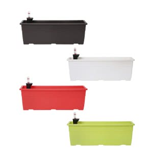 Reca 40 Multicolour Self Watering Planter - Set of 4