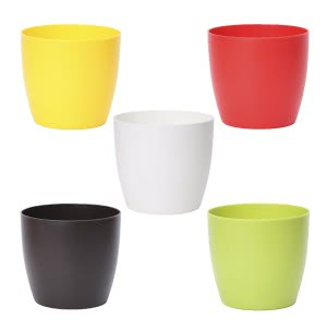Ronda 14 Multicolour Plastic Planter With Accessories