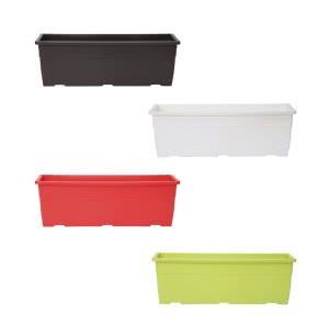 Reca 40 Multicolour Window Planter - Set of 4