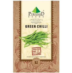 Green Chilli Seeds - 25 g