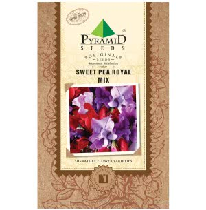 Sweet Pea Royal Mix Flower Seeds
