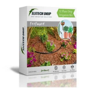 32 Plant Drip Irrigation Kit