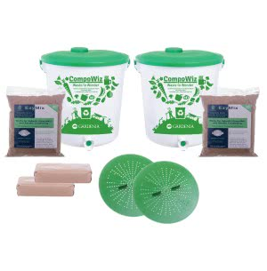Compost Bin 14 L - Set of 2 (Family of 2 Members)