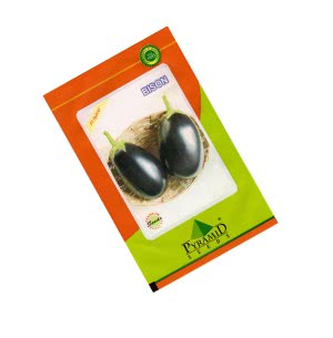 Hybrid Brinjal Seeds - Bison- 10 gm