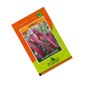 Hybrid Chilli Seeds - Bellary Express - 10 g