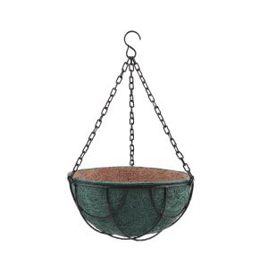 Hanging Coir Pot Multicolor 10 in. - Set of 3