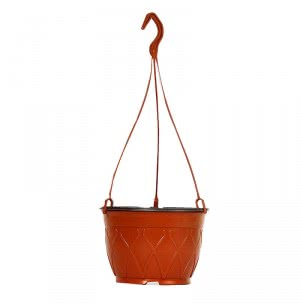 Desch Hanging Basket - 7.5 Inch (Terracotta) - Set of 10