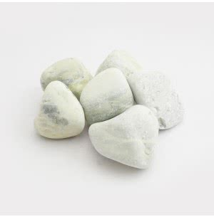 Lemon Yellow Tumbled Pebbles- 1 Kg