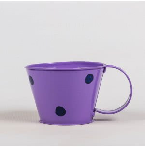 Metallic Polka Cups (Purple)