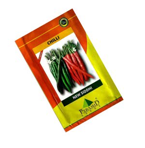 Hybrid Chilli Seeds-New Siddi - 10 g