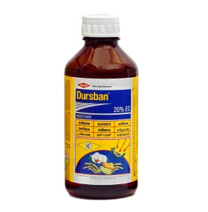 Dursban 20% EC - 1Ltr - Termiticides