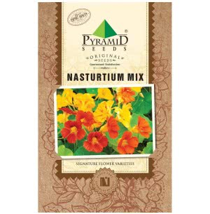 Nasturtium Mix Flower (20 Seeds)