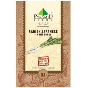 Radish Japanese Seeds (White Long)