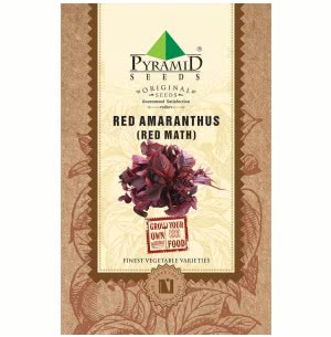 Red Amaranthus Seeds (Red Math) - 250 g