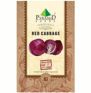 Red Cabbage Vegetable Seeds
