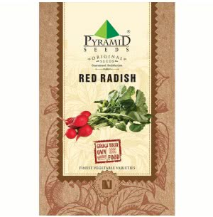 Red Round Radish Vegetable Seeds