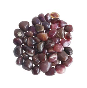 Onyx Ruby Polished Pebbles- 1 Kg