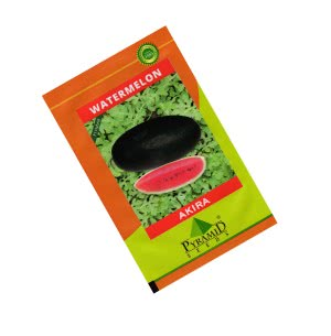 Hybrid Watermelon Seeds - Akira (Black) - 50 gm