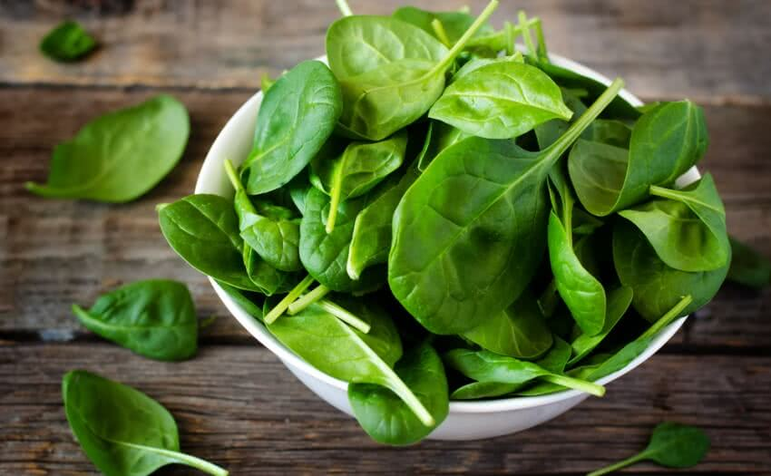 growing spinach, spinach leaves