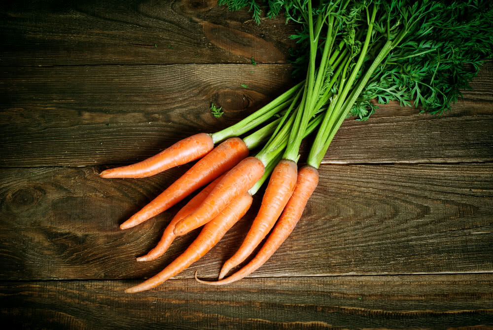 facts about vegetables, carrots, information about vegetables