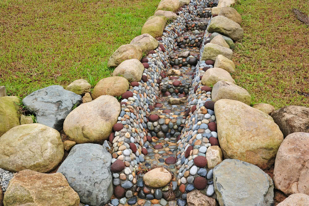 Gardening tips for water drainage
