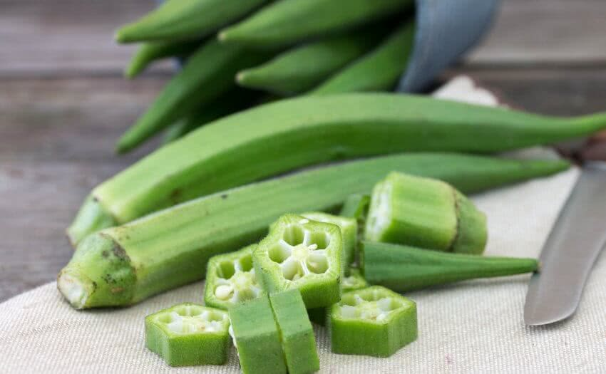 Okra vegetable how to grow okra from seed lady finger for Gardening tools pakistan