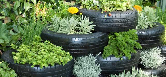 Tyre gardening creative ideas for old tyres - Garden ideas using tyres ...