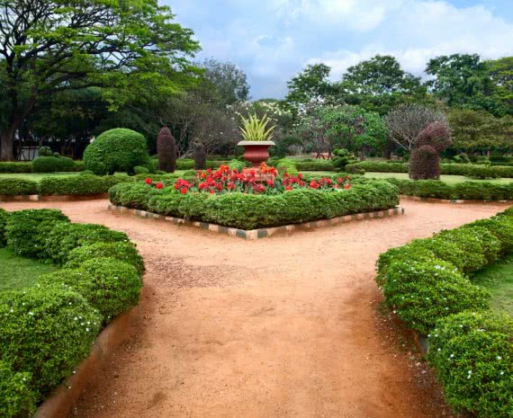 Indian botanical garden