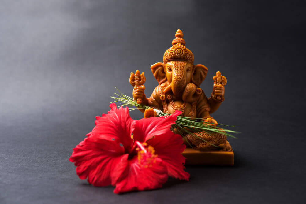 ganesha favourite flower