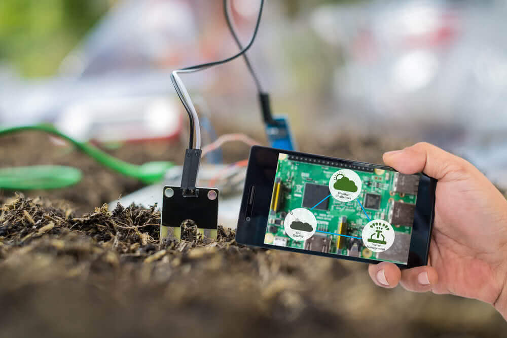 automation in agriculture with sensors