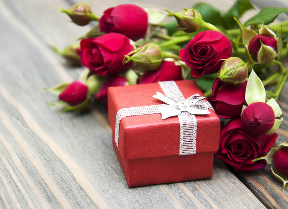 Flowers for valentines gift