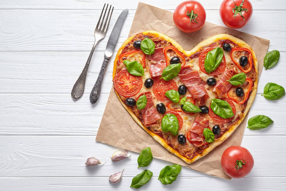 love Pizza cooked at home