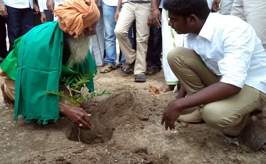 Inauguration of Naanal Foundation by Organic Farming sientist G Nammalvar