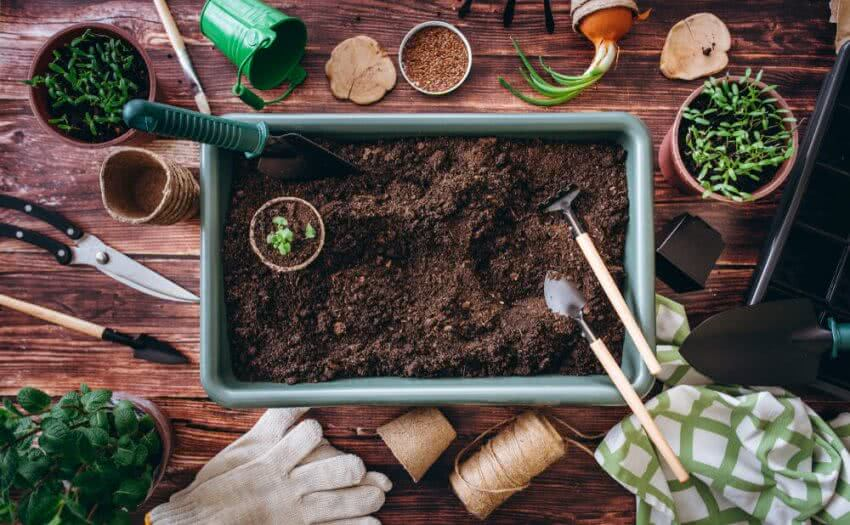 making compost at home