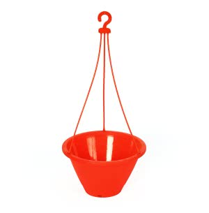 Danshil Climber Hanging Pot - 8.6 Inches (Red)