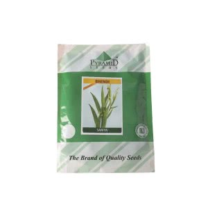 Hybrid Bhendi Vegetable Seeds (Okra)-Saniya - 250 g
