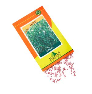 Hybrid Chilli Vegetable Seeds-Banjara - 10 g