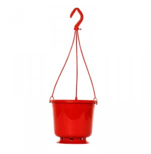 Desch Tamara hanging Pot (Red)