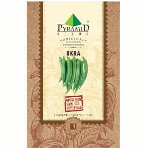 Okra (Lady Finger) Vegetable - 50 Seeds